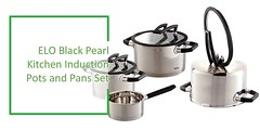 Stainless Steel Cookware Set Review : ELO 7-Piece Black Pearl Stainless Steel cookware set Review