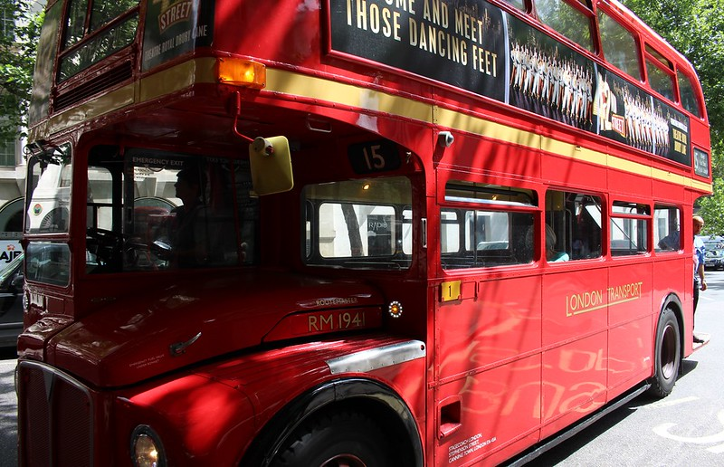 Routemaster bus, London