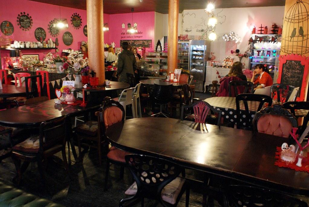 Café patisserie Once upon a tart à Glasgow.