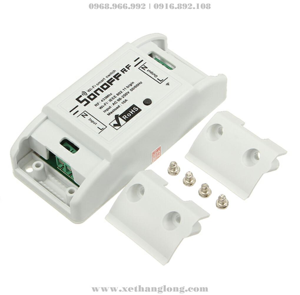 Thiết bị tắt mở bằng sóng RF hoặc mạng Wifi