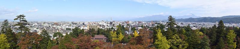 Aizu-Wakamatsu panorama