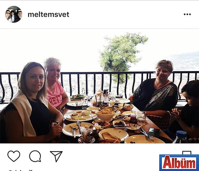 Veteriner Hekim Meltem Arslan, Danimarka'dan gelen misafirleri Gitte Eriksen ve Lene Andersen'ı ağırladı.