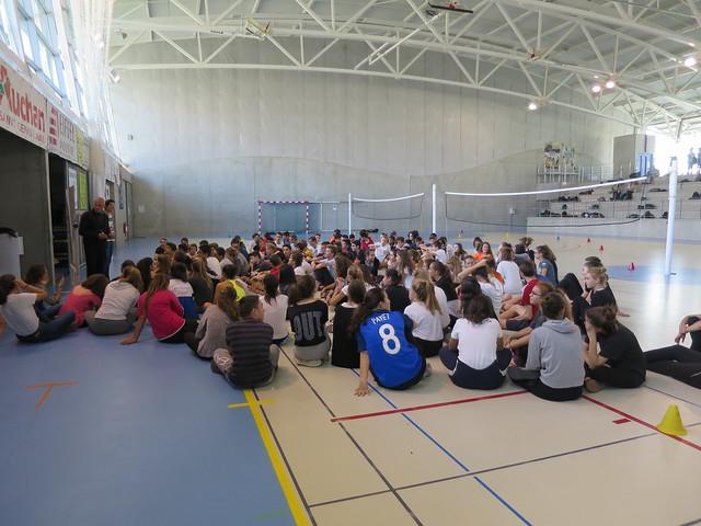 490 élèves mobilisés pour la JNSS au lycée René Descartes