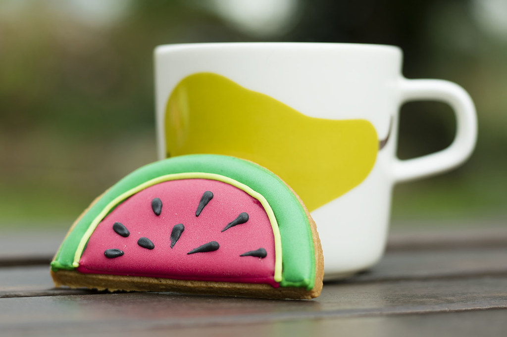 Watermelon Biscuit Biscuiteers
