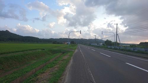 せたなの辺りは少し日本っぽい景色があった。いや日本だけど。