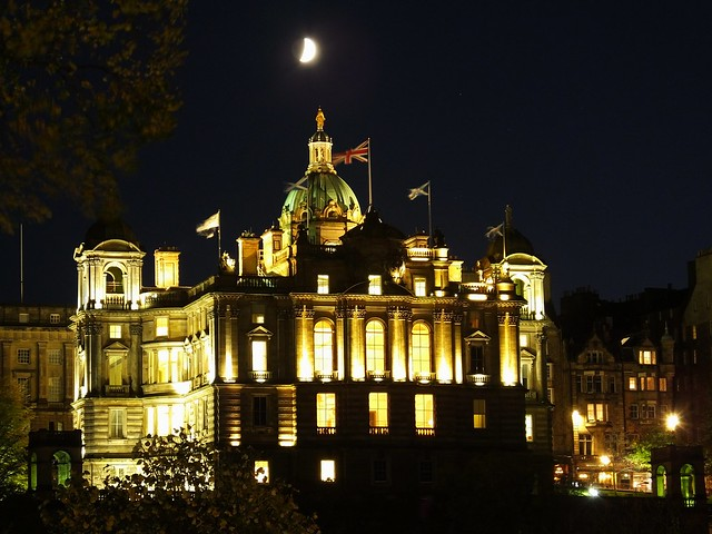 Edinburgh Moonrise