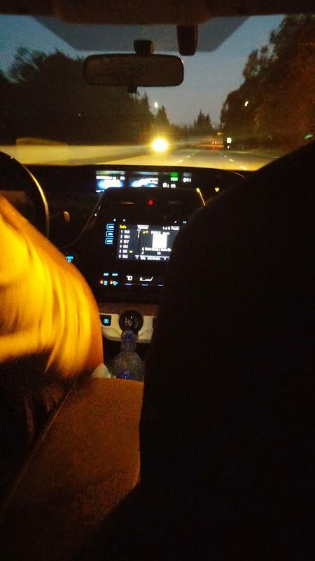 I Uber till San Francisco
