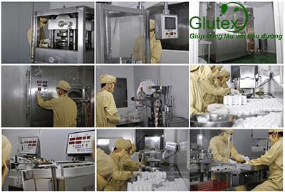 Quy trình sản xuất Glutex hiện đại bậc nhất tại Việt Nam