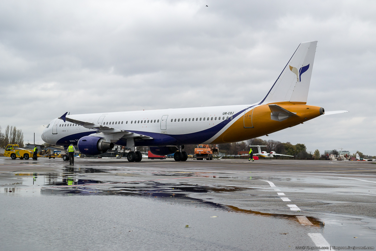 Airbus A321 впервые в Жулянах