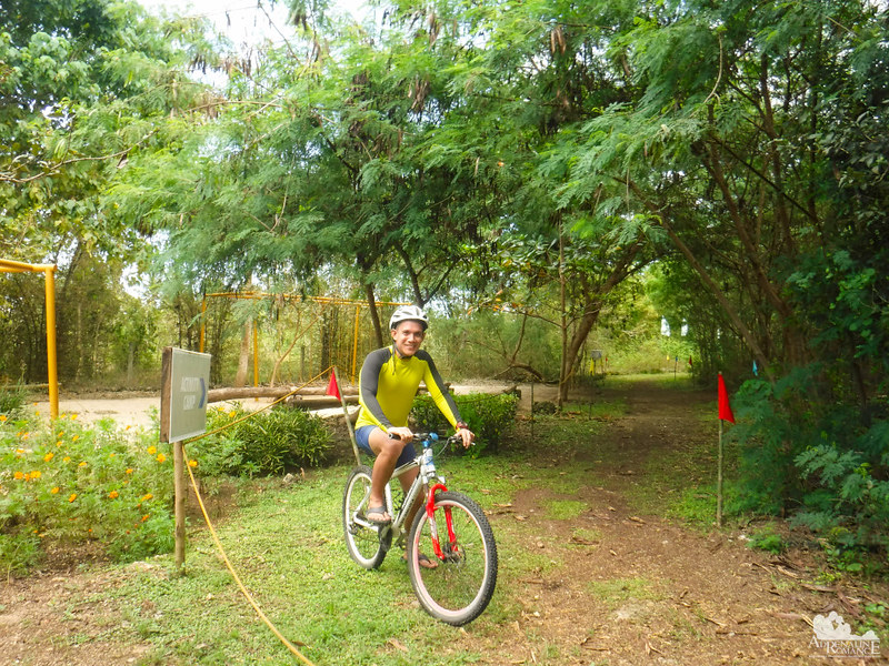 Off-trail biking at Bluewater Panglao Beach Resort