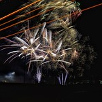 National Fireworks Association 2017 Convention Public Display (With Vehicle light Blur)