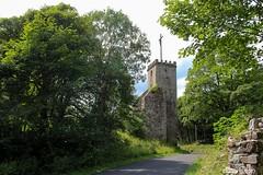 La Tour de l'Église - Chartreuse de Bonnefoy (Ardèche)