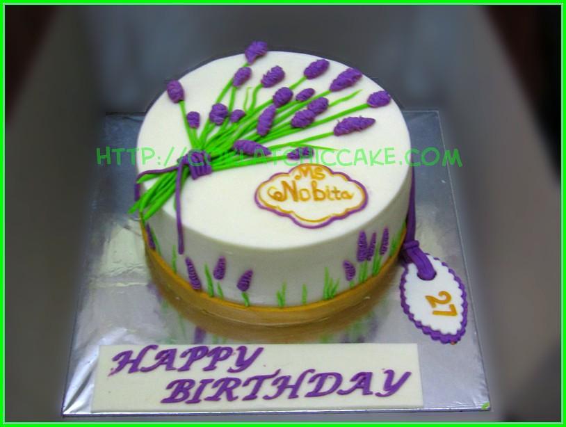 Cake Lavender Ms Nobita