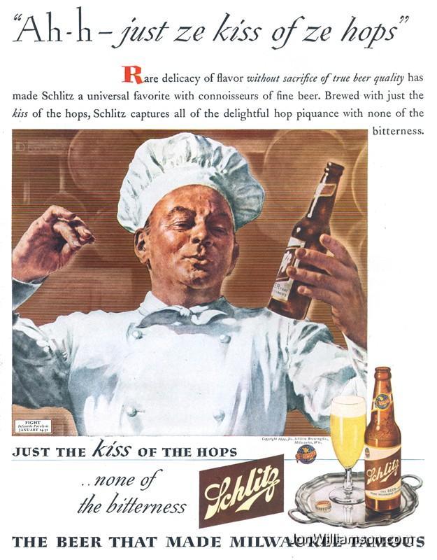 Schlitz-1944-italian-chef