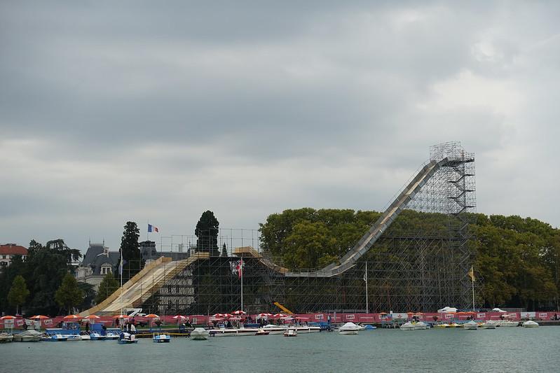 Ramp @ Sosh Big Air @ Lac d'Annecy @ Jardins de l'Europe @ Annecy