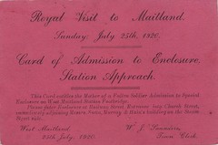 Royal visit to Maitland, N.S.W., 1920