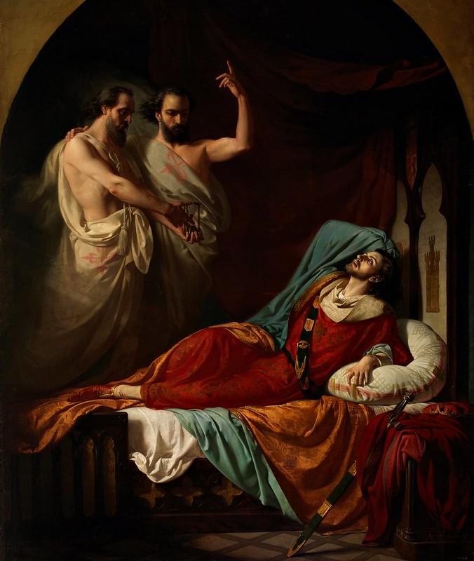 José María Casado del Alisal - Últimos momentos de Fernando IV el Emplazado
