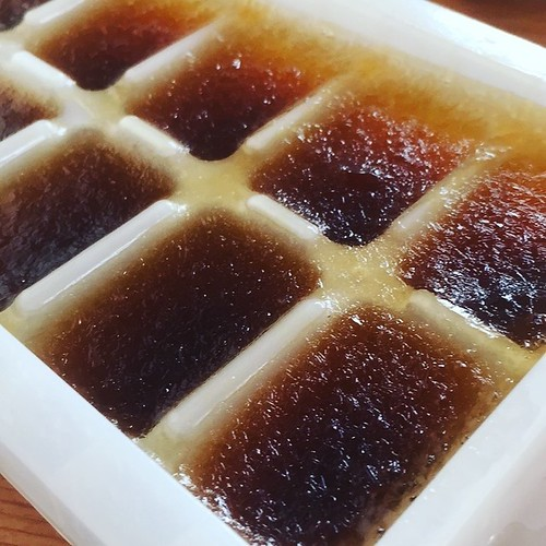 Sage Tea Ice Cubes