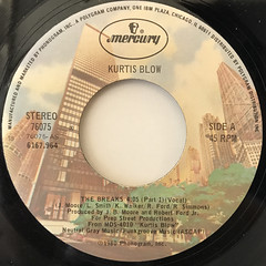 KURTIS BLOW:THE BREAKS(LABEL SIDE-A)