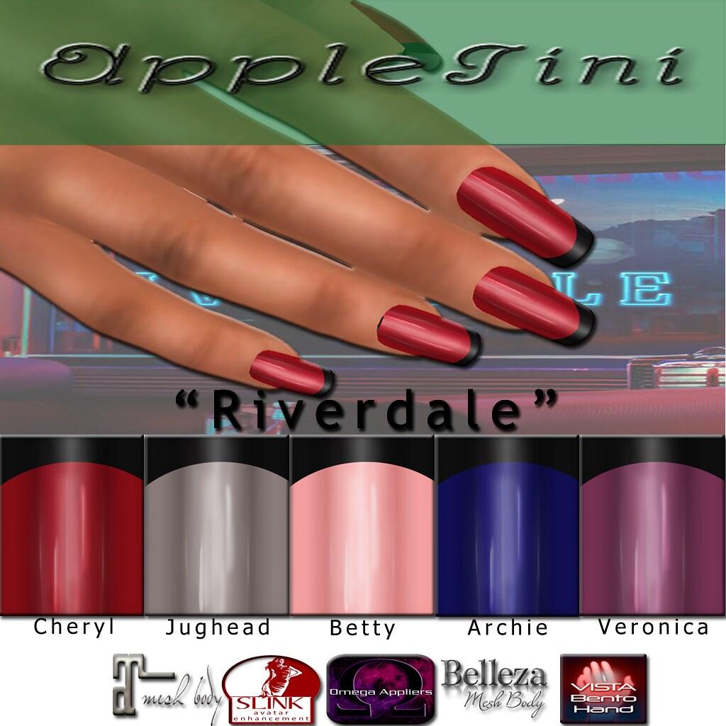 AppleTini  Riverdale Nails - TeleportHub.com Live!