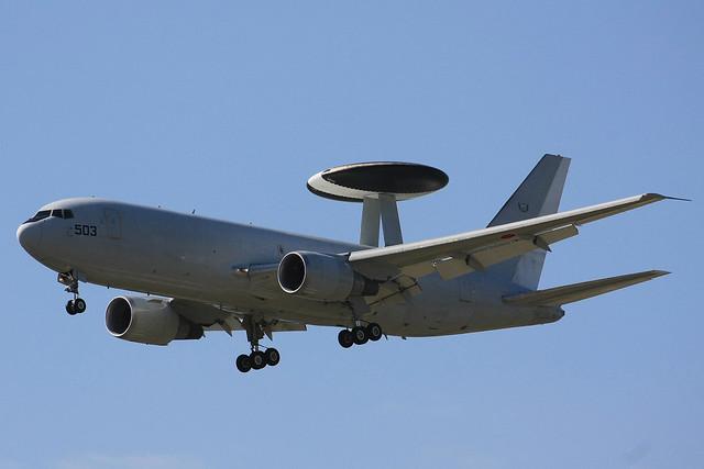 警戒航空隊 第602飛行隊 E-767 74-3503 IMG_3908_2