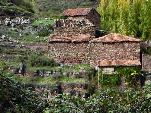 The village of Mansilla de la Sierra in Spain