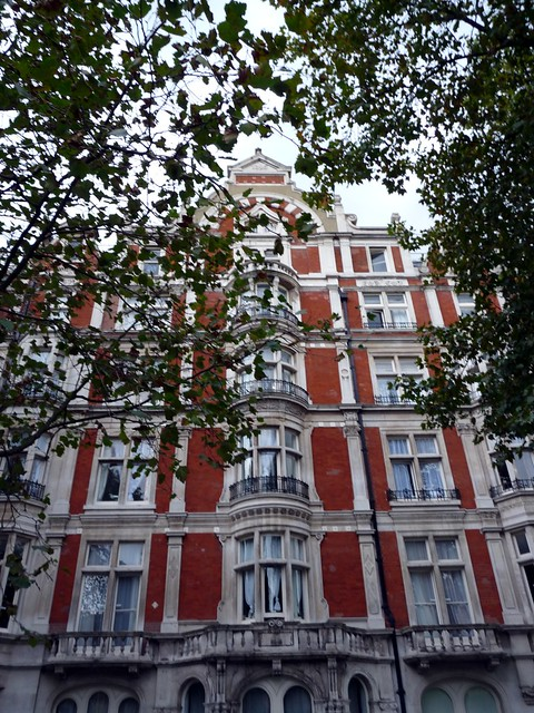 Beautiful houses in Holborn