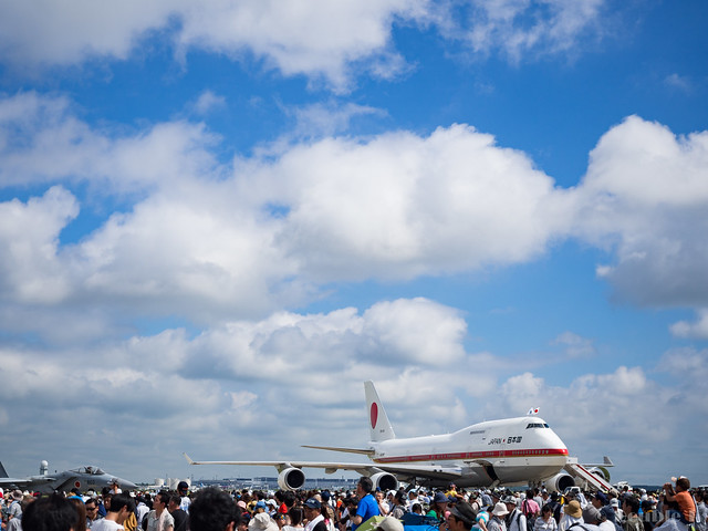 JASDF Chitose AB Airshow 2017 (129) Japanese Air Force One / 20-1101