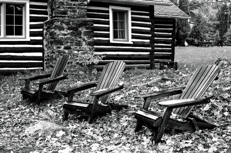 Three Muskoka Chairs_