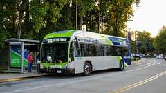 Montgomery County Transit Ride On extRa 2017 Gillig Low Floor BRT Plus Diesel #44061D