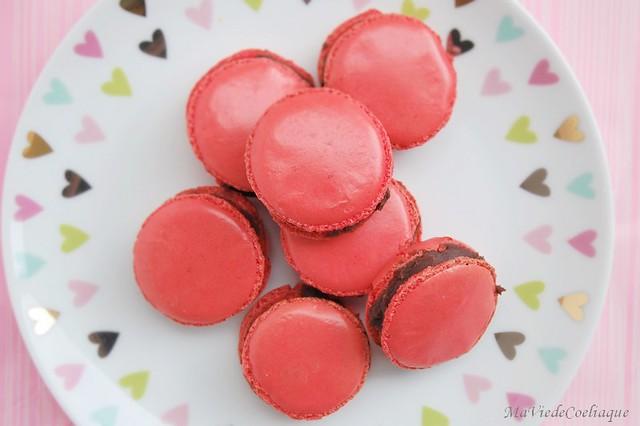 macarons au chocolat sans gluten