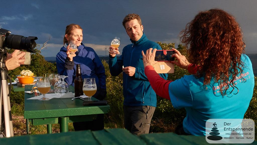 Sundowner auf der Kupferberghütte mit Schnorres-Bier: Behind the Scene