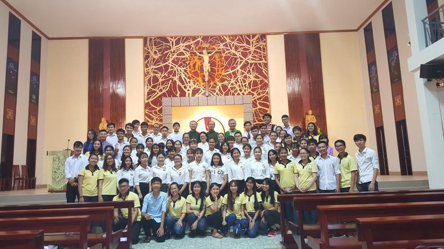 Thánh lễ đầu năm học 2017-2018 của nhóm Sinh viên công giáo Bình Minh