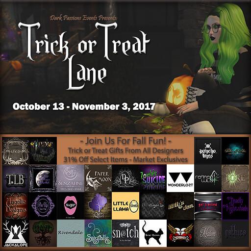 Trick or Treat Lane - 2017 - 512x512 v2