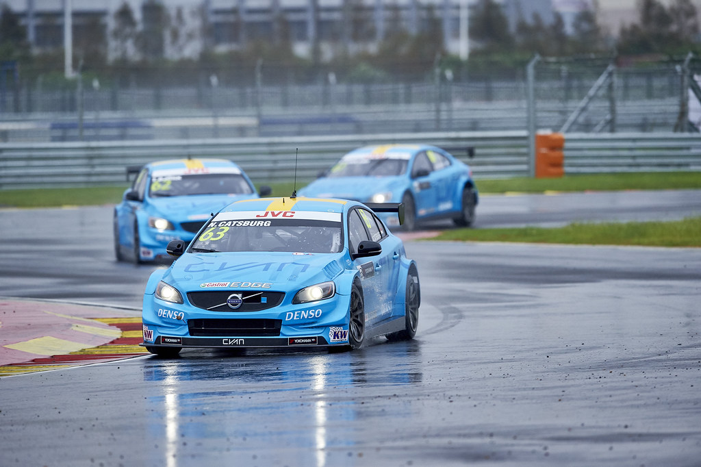 during the 2017 FIA WTCC World Touring Car Championship at Ningbo, China, October 13 to 15 - Photo David Noels / DPPI MAC3, Volvo S60, Thed Bjork, Nicky Catsburg, Nestor Girolami