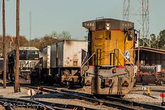 UP 9486 | GE C41-8W | NS Forrest Yard