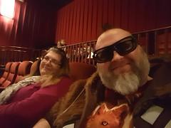 12/18/16 - IMAX Star Wars viewing w/ best friend Amy