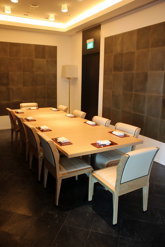 Private dining room for 10