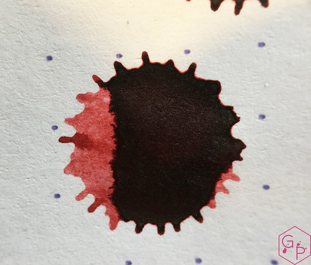 Ink Shot Review @Montblanc_World William Shakespeare Velvet Red @couronneducomte 10
