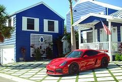 Porsche Cayman GT4  #porsche #cayman #gt4 #shiny #sports #car #german #exotic #color #photography #streetphotography #photojournalism #nikon #dslr #nikonlove