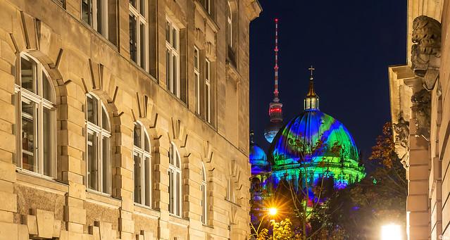 Berliner Dom - Festival of Lights 2017 (I)