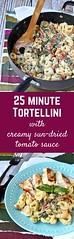 Tortellini with Crea