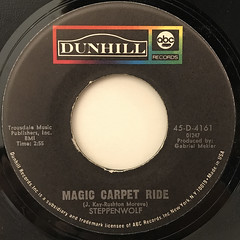 STEPPENWOLF:MAGIC CARPET RIDE(LABEL SIDE-A)