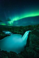 🌍 Aldeyjarfoss Aurora, Iceland