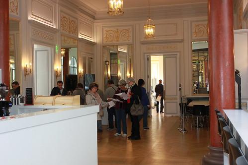 Le hall ou précédemment l'antichambre – hôtel de Mercy-Argenteau – Mozilla Paris