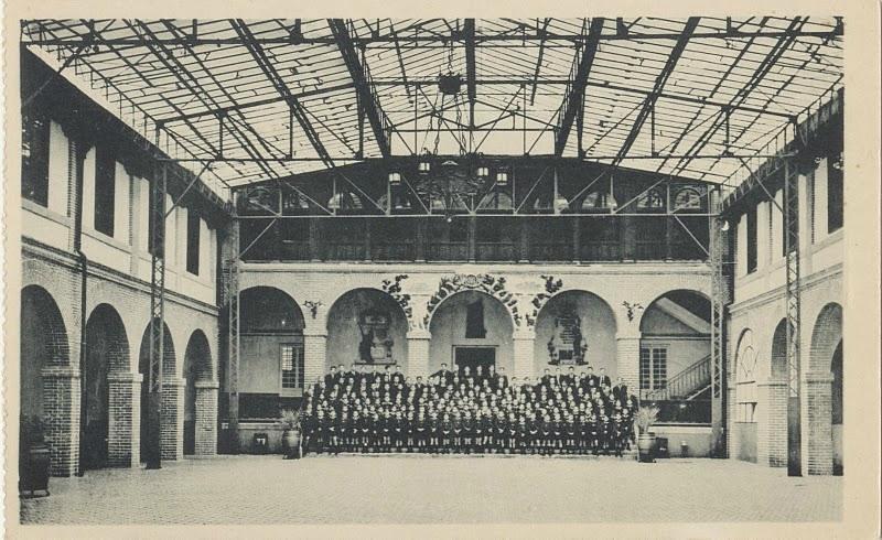 Colegio de María Cristina de Huérfanos de la Infantería en el antiguo Hospital de San Lázaro