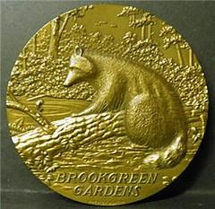 Chester Martin Brookgreen Gardens medal obverse