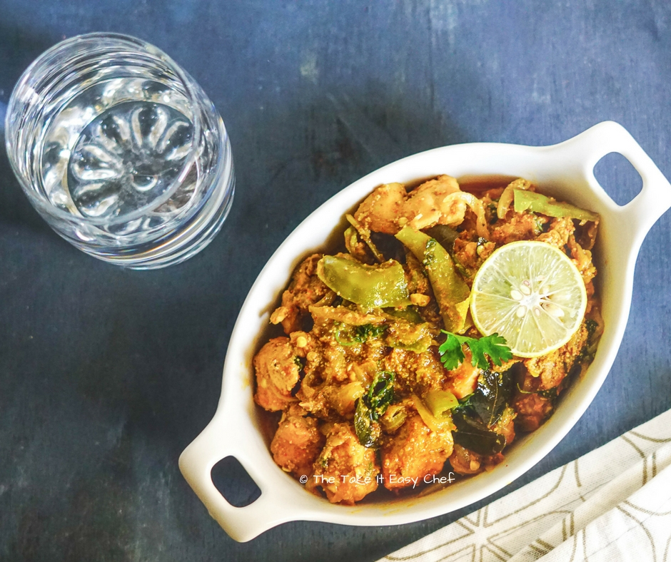 Andhra Style Chilli Chicken