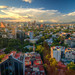 Mexico City at sunset por ap0013