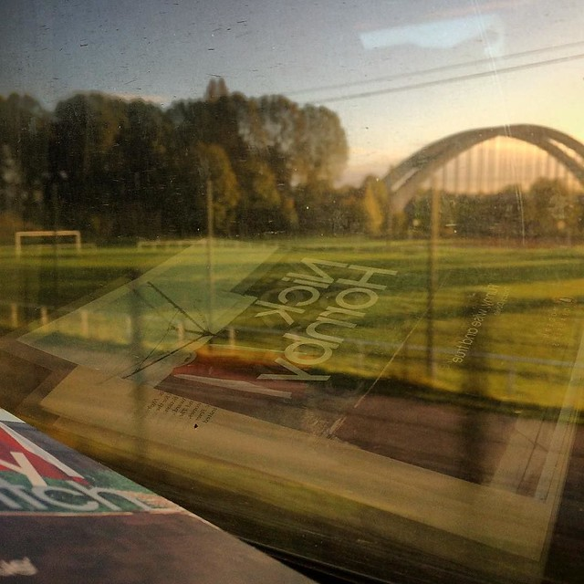 #rouenparisrouen #footballplayground #normandie #nickhornby #feverpitch #arsenal @penguinbooks #football #train #tw